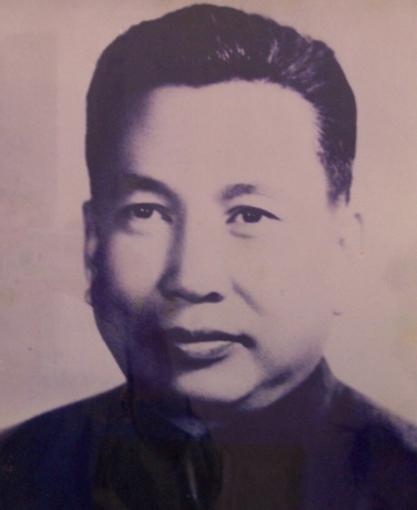 Pol Pot portrait
