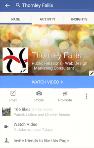 Facebook Pages For Mobile